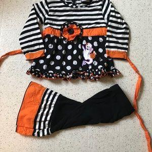 Little Girls Halloween Outfit